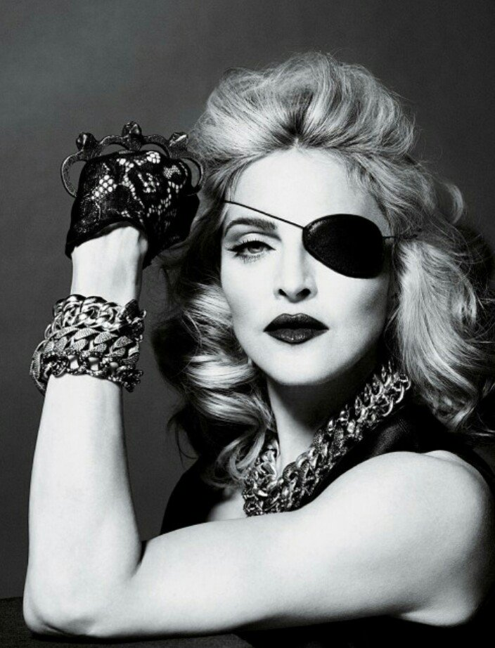 Happy 61st Birthday to Madonna, born August 16, 1958. ( Mert Alas / Marcus Piggott)