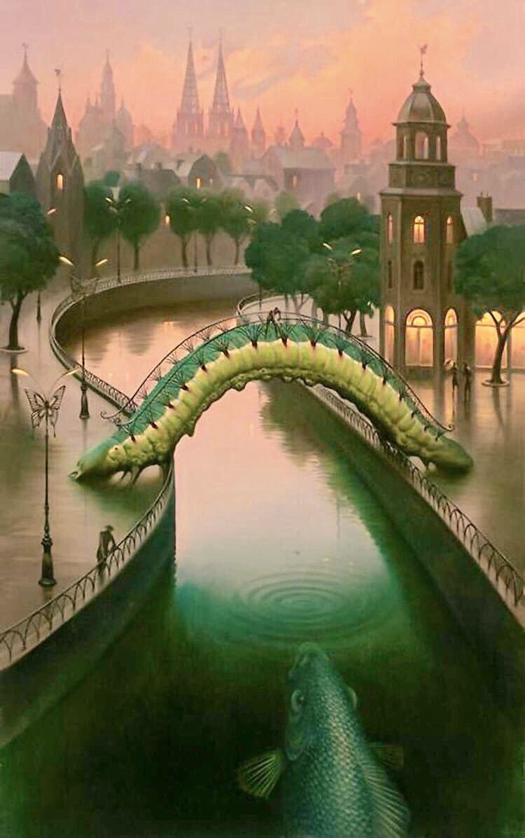 ❦When you stretch out of your comfort zone you take a risk, but risk is the bridge to adventure in undiscovered territory. ~Anne Scottlin #risk #motivationalquotes #quotes #comfort #zone #Art #VladimirKush<br>http://pic.twitter.com/9A4T3es64B