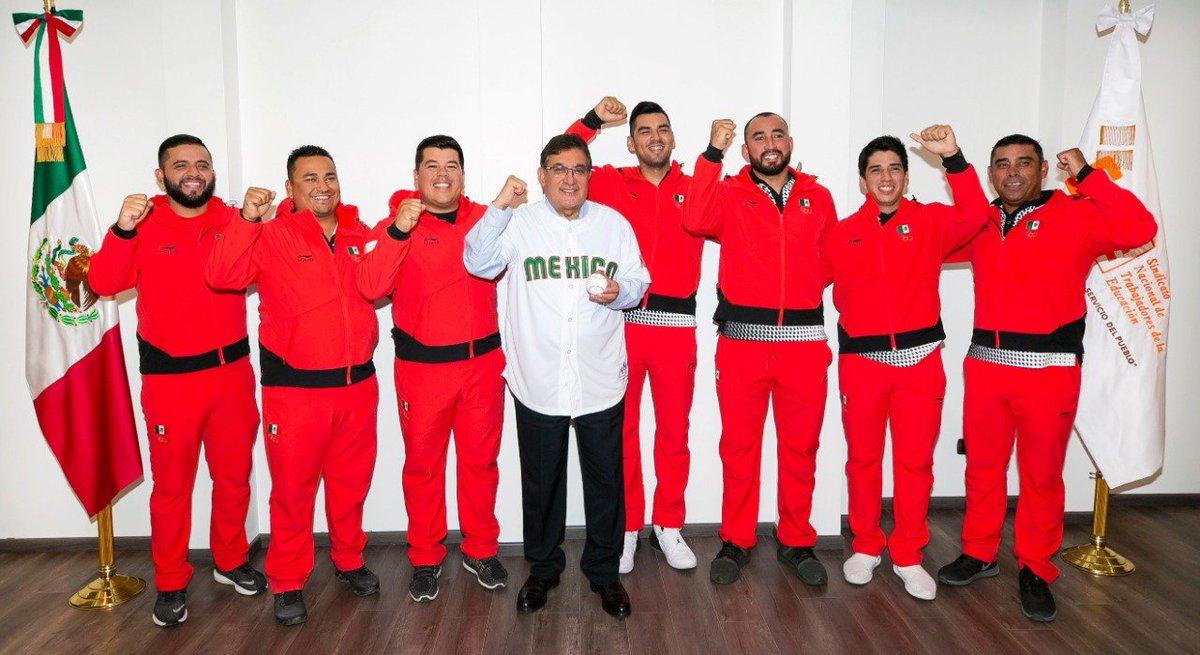 #SnteNoticias 🌐 ⚾️ Orgullo de México✔️ del magisterio✔️ del #SNTE✔️ maestros medallistas que triunfaron en los Panamericanos #Lima2019 en Softbol ⚾️🧢 con medalla de bronce🥉 NOTA 👉bit.ly/2YSyLyy👈 #FelizJueves #15deAgosto AMLO #KCAMexico UEFA #DiadelCineMexicano