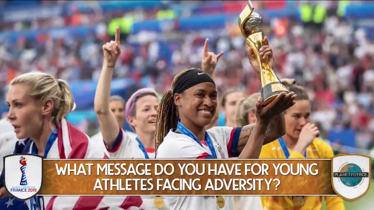 World Cup champion Jessica McDonald (@J_Mac1422) has had a remarkable personal journey. We spoke to her about it on the new episode of Planet Fútbol. For the full FREE show, go here: si.com/soccer/video/2…