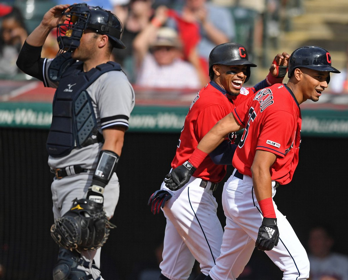 .@RyanRuocco tells @BullandFox #Indians #Yankees would be outstanding playoff series, matching elite pitching-hitting...so who would you favor? bit.ly/2Z40GXO