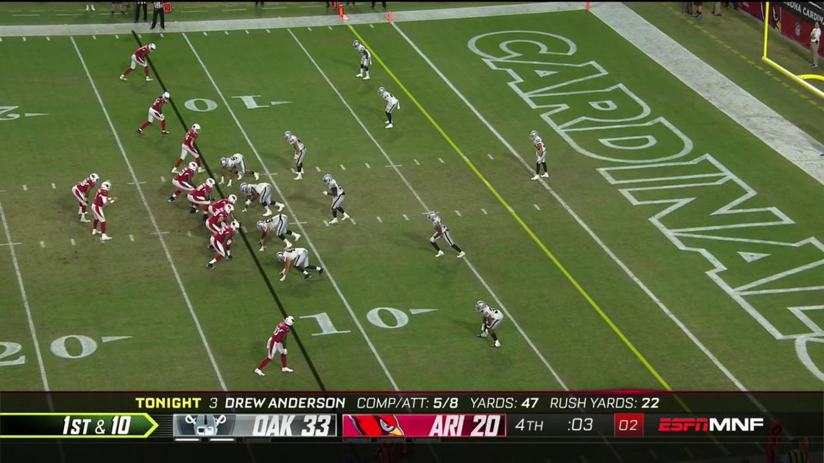 The rookie from @racersfootball finds @calebwilson84 for the score as time expires!  📺:#OAKvsAZ on ESPN  Watch on mobile: http://on.nfl.com/ZjwOZh