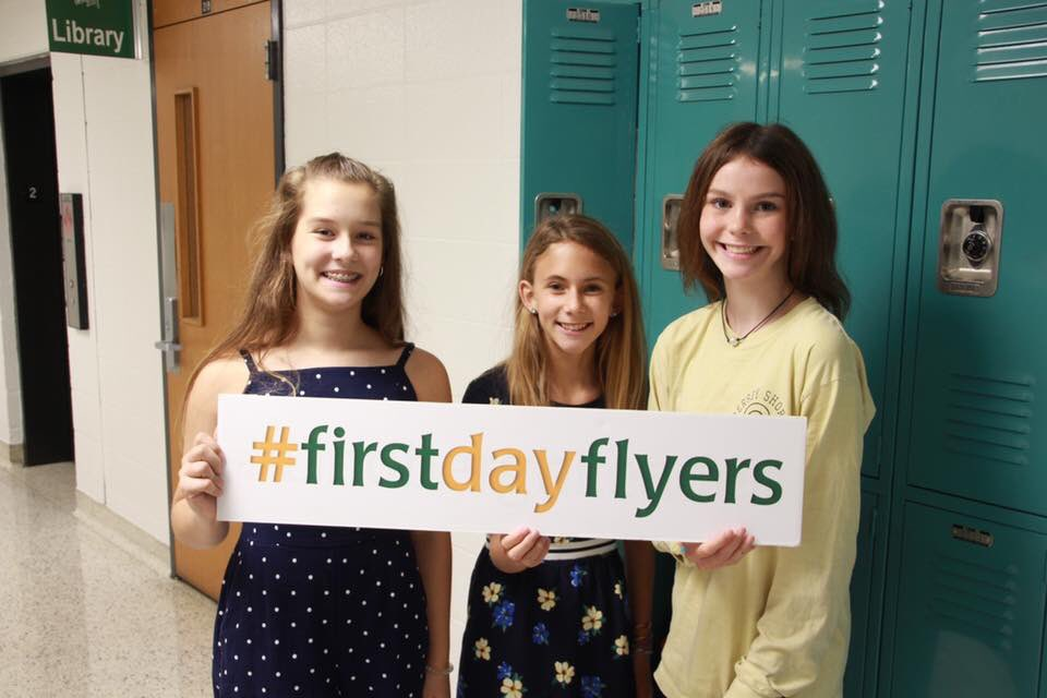 Great #firstday @SperrengFlyers #whywefly !