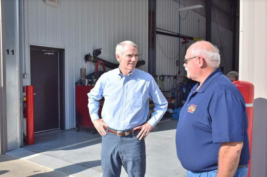I'm pleased that we're continuing to see a positive response from #taxreform as employers like Finley Fire continue to invest more in their businesses & their communities. Finley Fire Equipment was able to give all of their employees bonuses thanks to their savings. <br>http://pic.twitter.com/itW7zu6zZJ