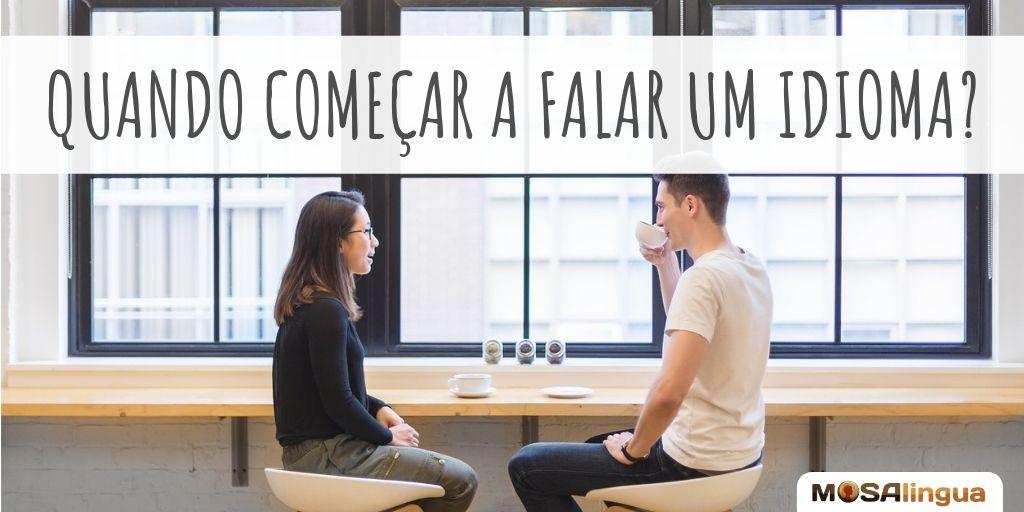 👄 Quando começar a falar em uma #língua estrangeira? Desde o início ou depois de adquirir confiança? ➡ ow.ly/VDfv50vxPcY