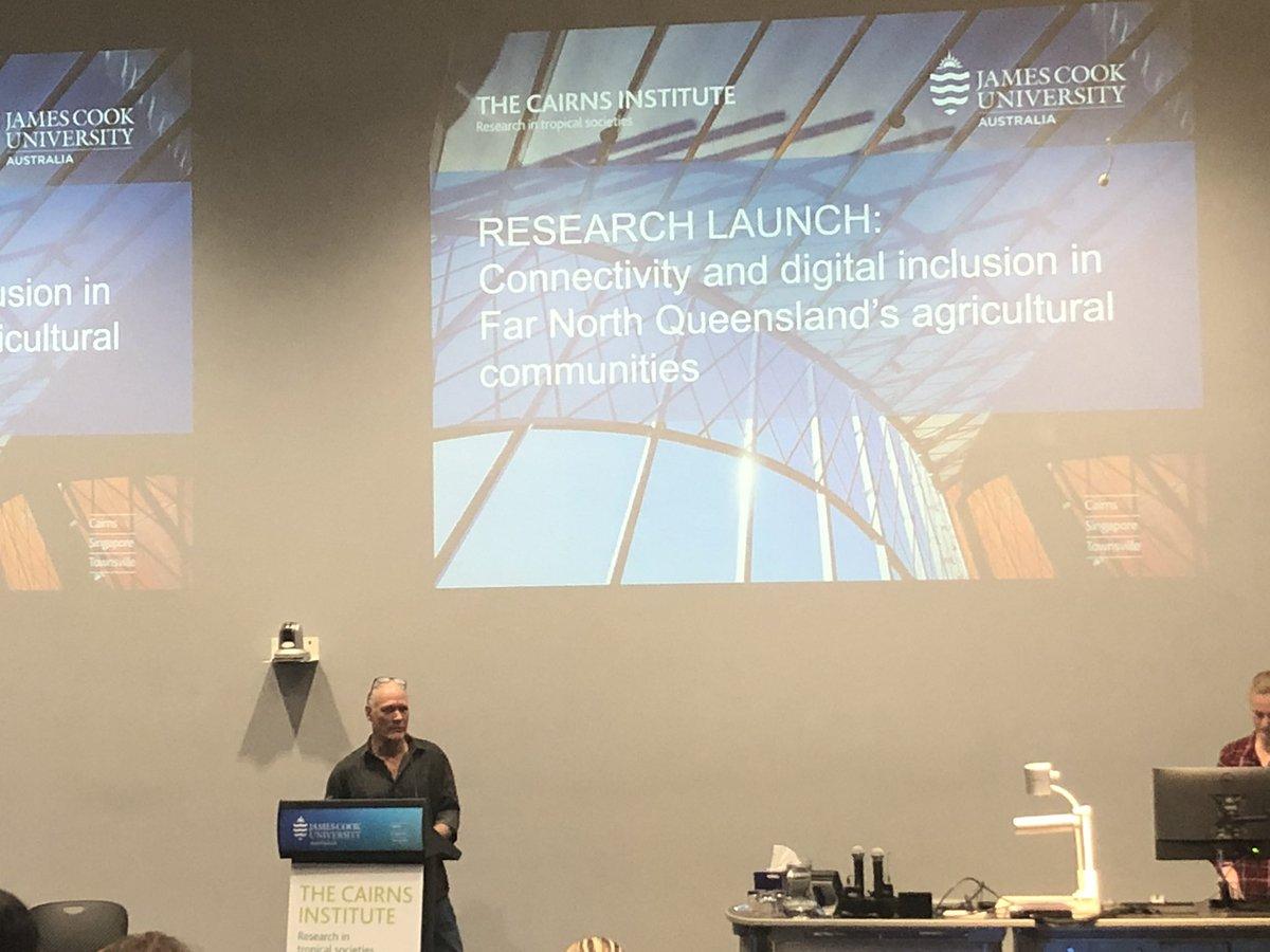 #digitalinclusion in the Far North. @ResearchRural @jcu Allan Daleans Hurriyet Babacan host a forum in Cairns @CairnsInstitute @ProfJohnCole @CQUni @UQ_Business @usqedu https://t.co/FSo0m6Npit