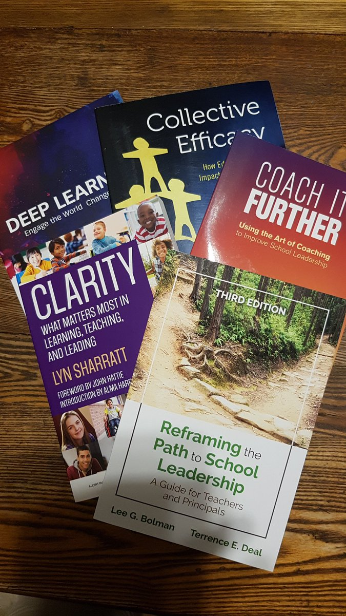 Thanks @voicEdcanada for the fabulous book collection from @CorwinPress.