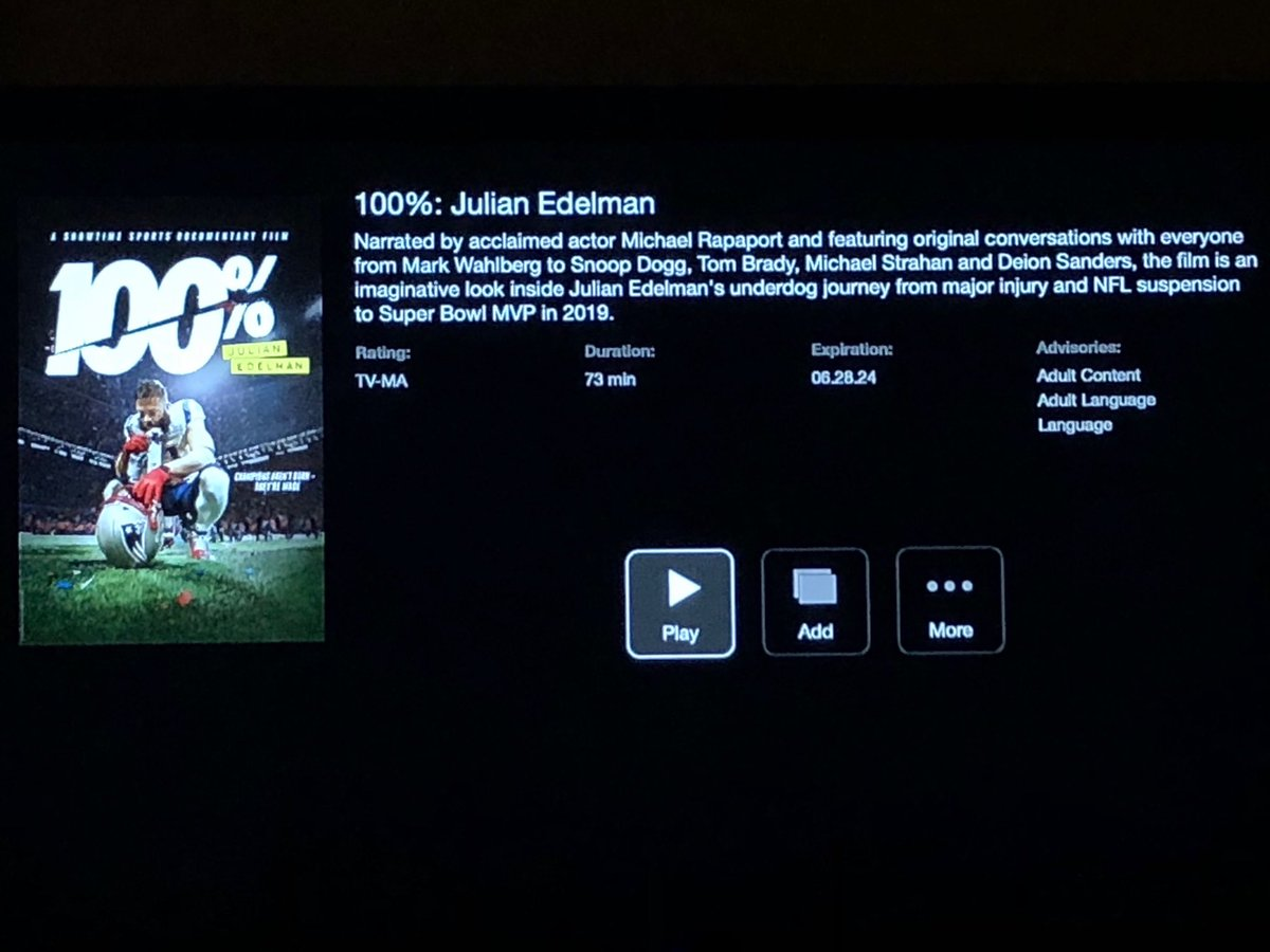 🙌🙏🏻🐿RT @bostonwriter: Public service announcement: if you have ⁦@Showtime⁩, do yourself a favor and check out this documentary on ⁦@Edelman11⁩. It's really well done and has a great f***ing ending. #GoPats
