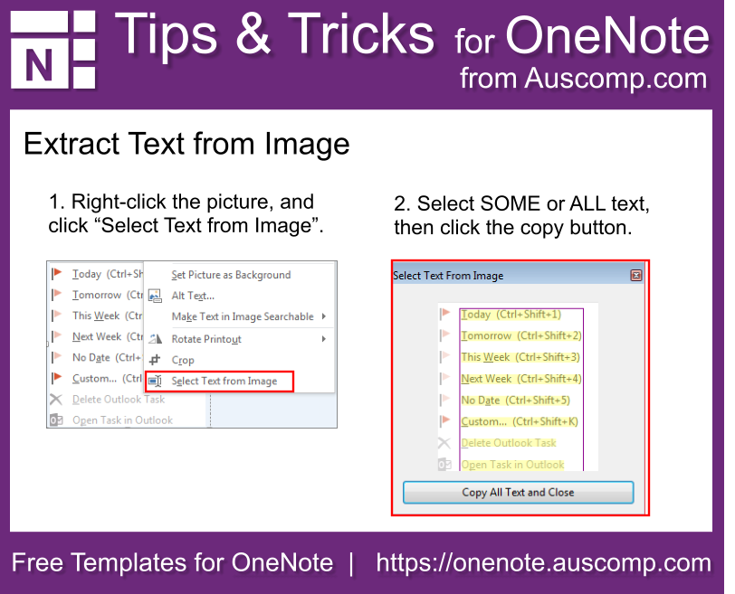 auscomp https://onenote auscomp com #Feature #OneNote