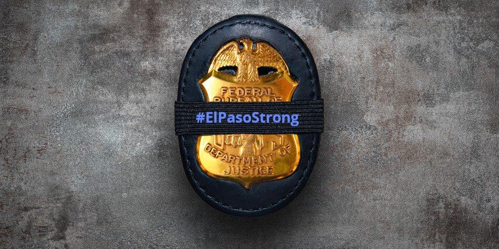 Our Victim Service Specalists and the FBI El Paso Division would be honored to attend Margie Reckard's services this Friday night. As part of this community, we won't let anyone so severely hurt by this tragedy go through this alone. Mr. Basco, we stand with you.  #EPStrong