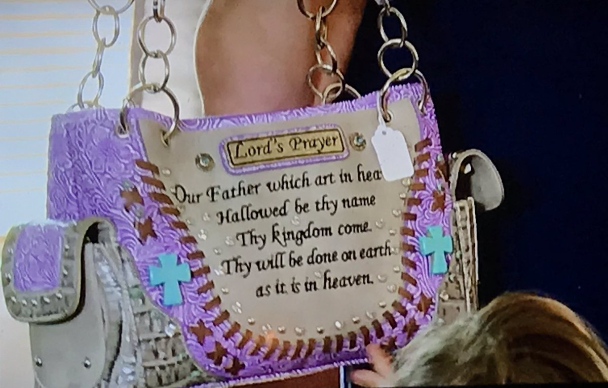 Never Forget..the time Angela bought a Lord's Prayer purse for Michael's mother #tbt #90DayFiance<br>http://pic.twitter.com/qubdxHDuuB
