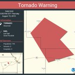 Image for the Tweet beginning: Tornado Warning including Wabaunsee County,