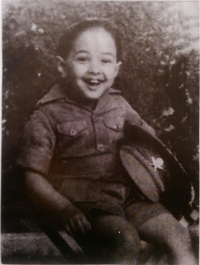 Late King Birendra Shah in his childhood. #Nepal