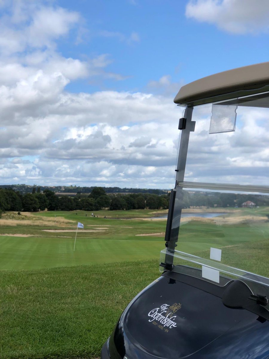 Thank you to @theoxfordshire for a fantastic day hosting some of the @golfbreaks clients yesterday