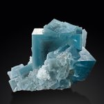 Image for the Tweet beginning: Ever the mineralogist! These aqua-blue