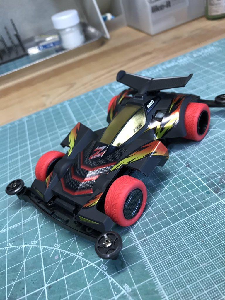 タミヤ ミニ四駆特別企画商品 ネオトライダガーZMC カーボンスペシャル スーパーIIシャーシ 95508に関する画像36