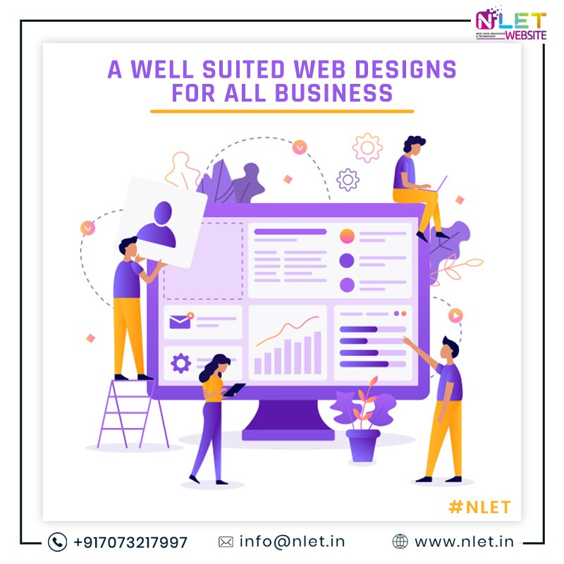 NLET Website Designing Company understands the importance of a business website, so we work on your goals and business objectives.    For more info visit us at  https:// nlet.in/web-developmen t/  …    #websitedesign #WEBSITEDESIGNS #WebsitedesigningcompanyIndia #websitedesigncompany<br>http://pic.twitter.com/YnnER7nN8z