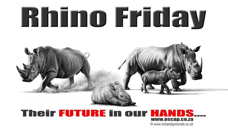 How sad but true, their future is quite literally in our hands from the murderous subhumans fuelling their pathetic little egos to the men & women fighting tirelessly to save these stunning animals or the fact that our fingernails hold exactly the same keratin as the rhinos horn!