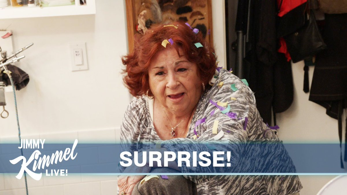 We celebrated my Aunt Chippy's 80th birthday the worst possible way