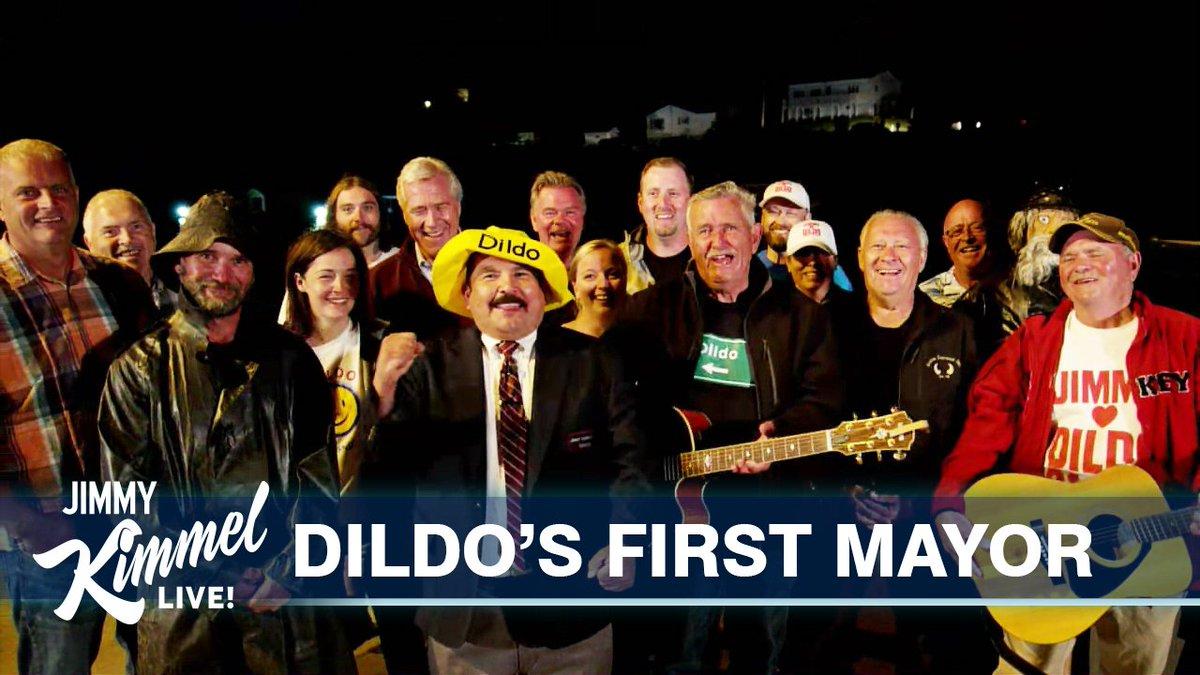I am honored to serve as the first ever Mayor of #Dildo Newfoundland Canada... #JimmyLovesDildo