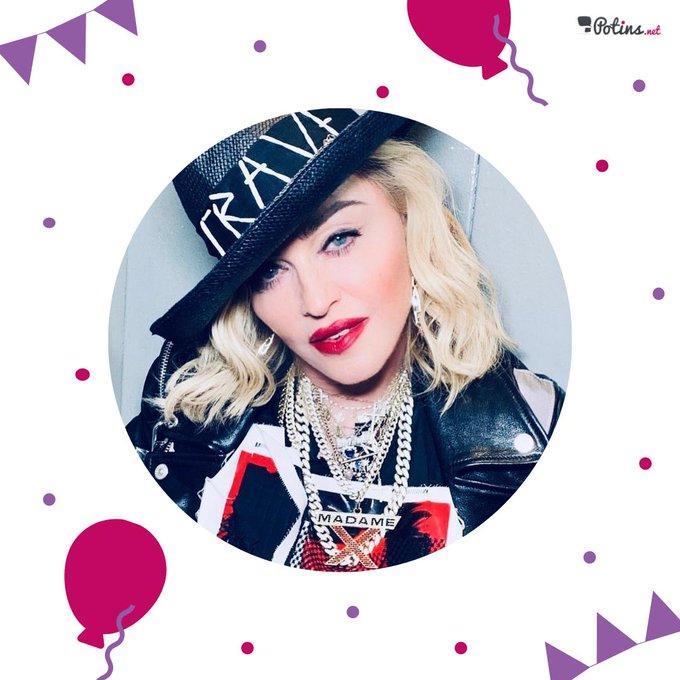 Happy Birthday !  La reine de la pop fête ses 61 ans.  Quel est votre titre préféré de la chanteuse ?