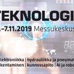 Image for the Tweet beginning: Startup-kilpailu Teknologia 19 -messuilla  Kilpailulla haetaan