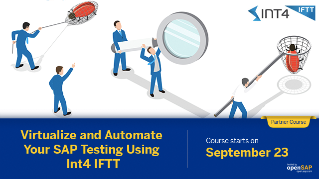 Are you looking to virtualize systems to test your integration scenarios? Join this free course with #SAPPartner Int4 to start your virtualized #SAP testing  http:// sap.to/6011E2Haz    <br>http://pic.twitter.com/my3nKFNemG