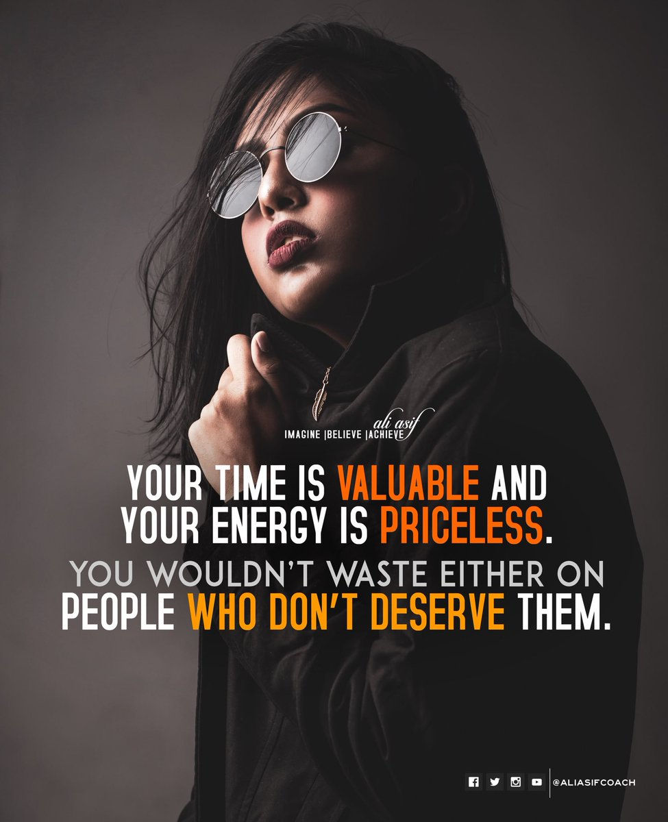 Your time is valuable and your energy is priceless. You wouldn't waste either on people who don't deserve them. #BlessedFriday #FridayThoughts #FridayFeeling #FridaysForFuture<br>http://pic.twitter.com/QSBSkpSkjM