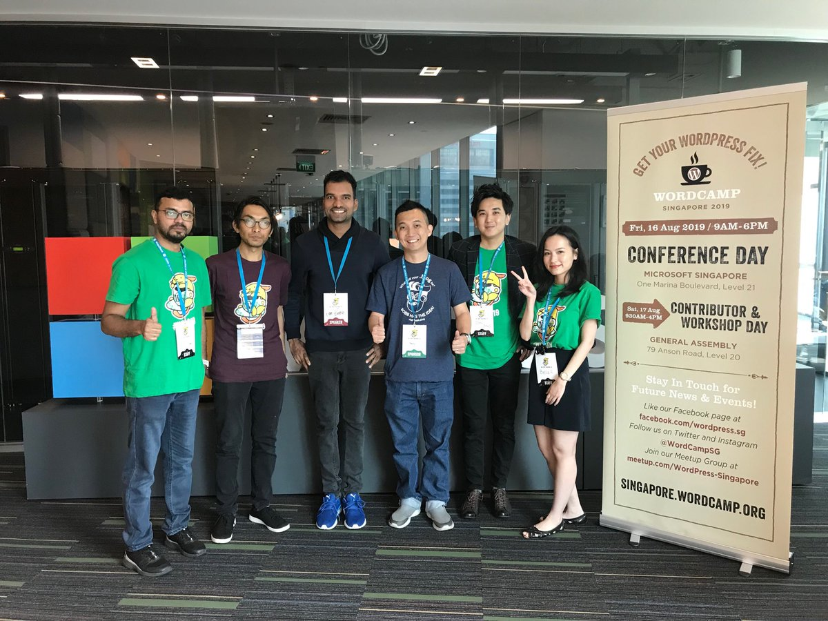 test Twitter Media - Fellow WordCamp Asia organizers at WordCamp Singapore! #WordCampSG https://t.co/k2McXuwabv