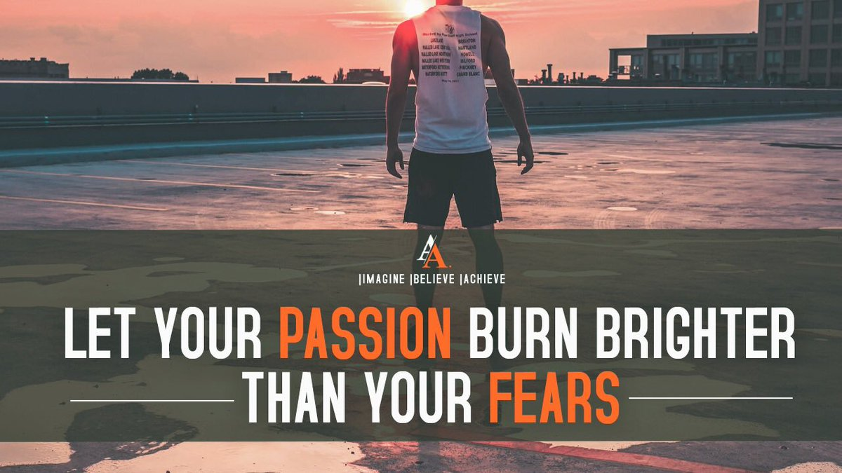 Let your passion burn brighter than your fears. #FridayFeeling #BlessedFriday #FridayThoughts #FridayMotivation<br>http://pic.twitter.com/WWC2WcO1zG