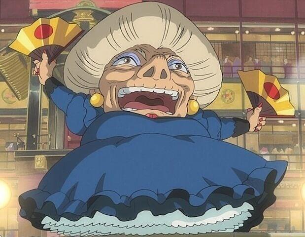「湯婆婆」の画像検索結果