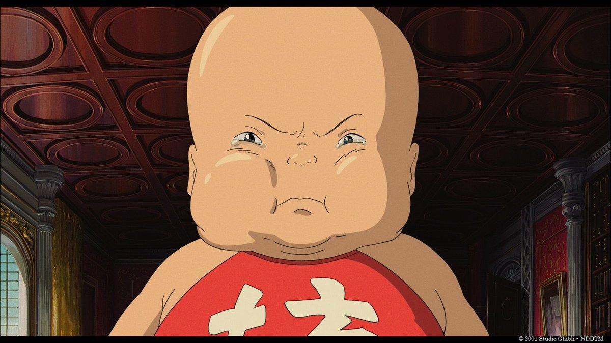 """アンク@金曜ロードSHOW!公式 on Twitter: """"#坊「坊と遊ばないと泣い ..."""