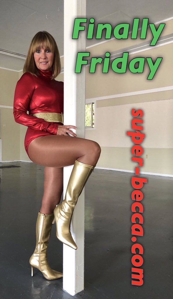 #HappyFriday  with Red Falcon.     http:// super-becca.com     <br>http://pic.twitter.com/DvRx8uG2jB
