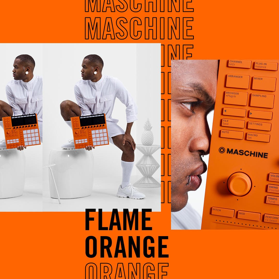 There are only 100 of them – and once they're gone, they're gone  Find out how to get your hands on this ultra-limited Flame Orange MASCHINE to celebrate a decade in the game  Learn more:  http:// bit.ly/2OXV69t     #10YearsMaschine<br>http://pic.twitter.com/Fvf9EaXijV