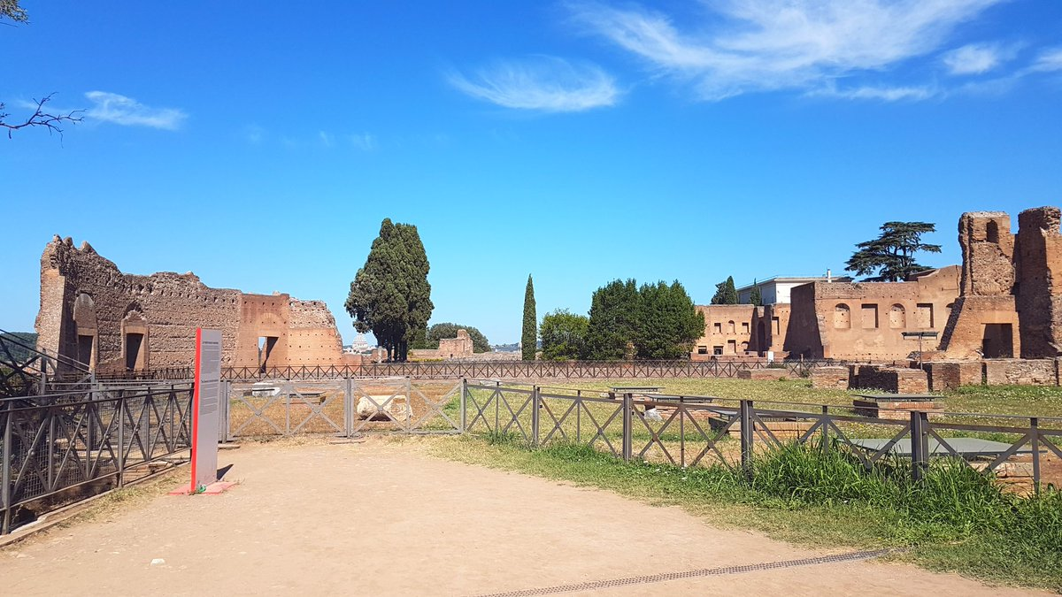 The Eternal City. What a privilege to have grown up here #Roma @ParcoColosseo