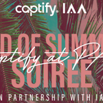The @Captify team are excited to bring a taste of Summer to #iaapac19 next week as the official afterparty sponsors! Looking forward to seeing lots of our industry friends there #SummerSoiree @IAA_UK
