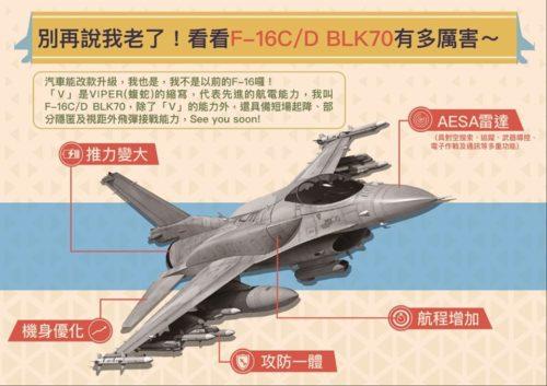 تايوان ترغب بشراء مقاتلات F-16V جديده لتحل محل مقاتلاتها المتقادمه نوع F-5  ECFIwjKUYAAd4CQ