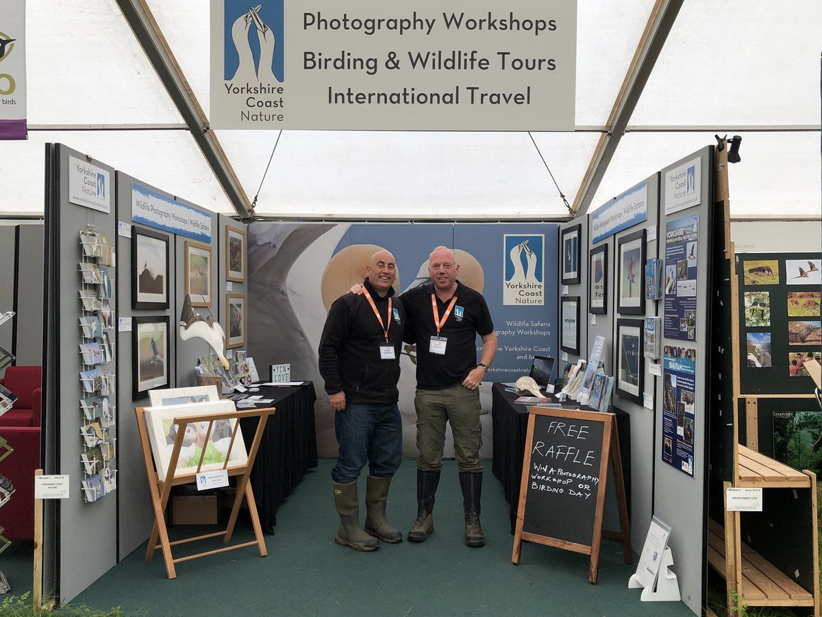 We are all systems GO @TheBirdfair come and visit us in marquee 3 stand 35 #freeraffle #2020workshops @YCNature @VisitYNT @Bempton_Cliffs<br>http://pic.twitter.com/e4lsFQGYkc