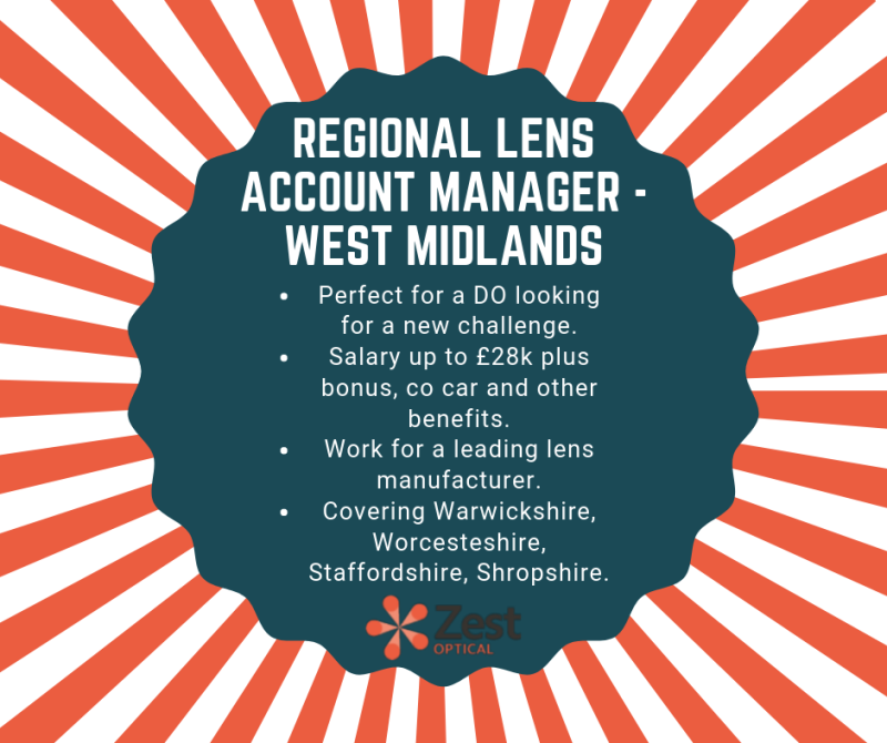Perfect opportunity for a Dispensing Optician looking for a new challenge outside of practice. Please get in touch in with Alex Grimes on alex.grimes@zestbusinessgroup.com to find out more.  #sales #dispensingoptician #westmidlands https://t.co/YLa5r0Nfns