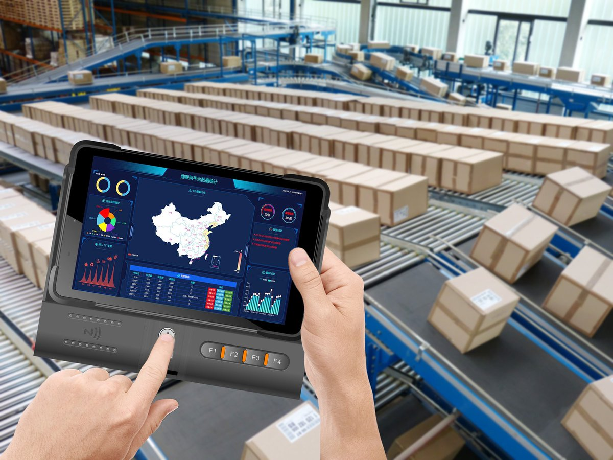 Ruggedtablet Rugged Warehouse Inventory Barcodescanner