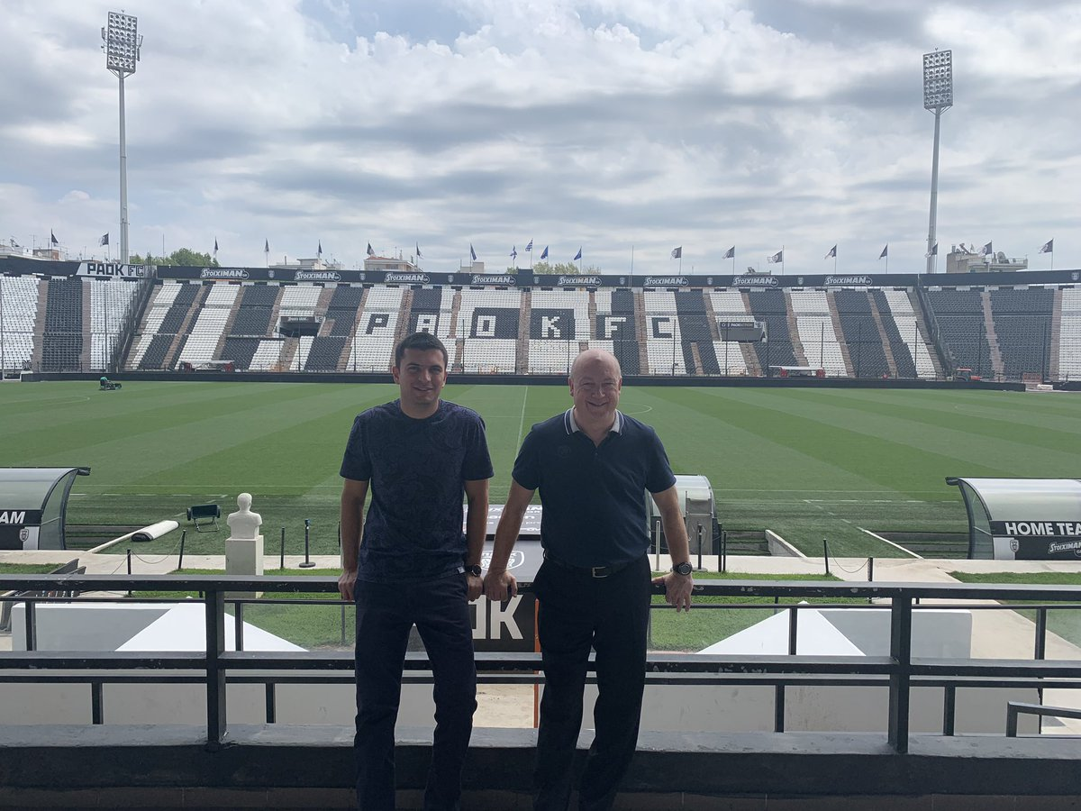 Quick visit to Toumba Stadium in Thessaloniki home of PAOK <br>http://pic.twitter.com/rEC5loeCR9