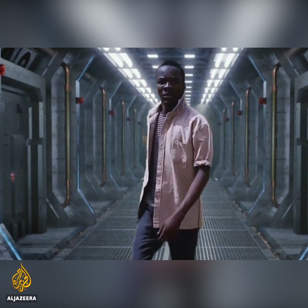 These Nigerian teenagers are producing short sci-fi movies using a smart phone and other everyday items.