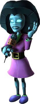 The robot ladies in the Ratchet and Clank series always make me smile. I love their designs, like all of them.
