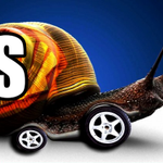 Image for the Tweet beginning: #NationalTellAJokeDay Why did the snail