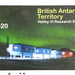 Image for the Tweet beginning: 1956: Halley Research Station was