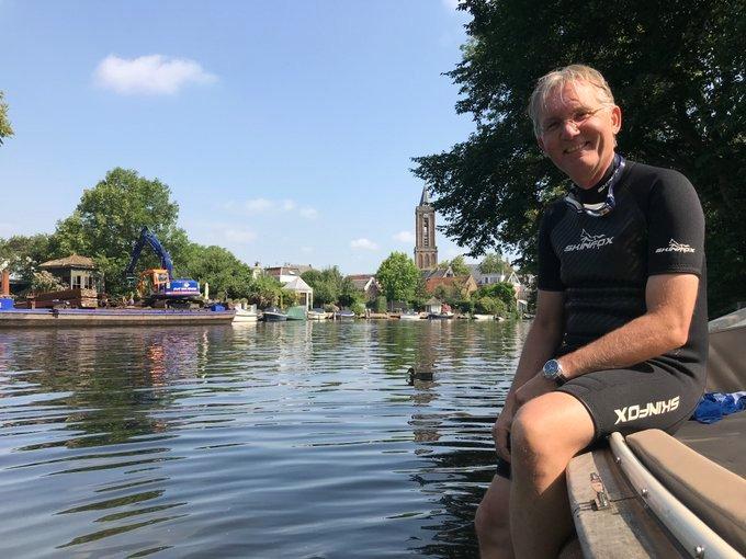Nog zo'n drie weken tot de Amsterdam City Swim! Tijdens de swim halen deelnemers geld op voor onderzoek naar ALS. 💙  Maar wat gebeurt er met dat donatiegeld? Onze dijkgraaf bezocht het laboratorium van @ALSnederland in het UMC Utrecht.  📽 VIDEO: https://t.co/nWP7at7ZsA