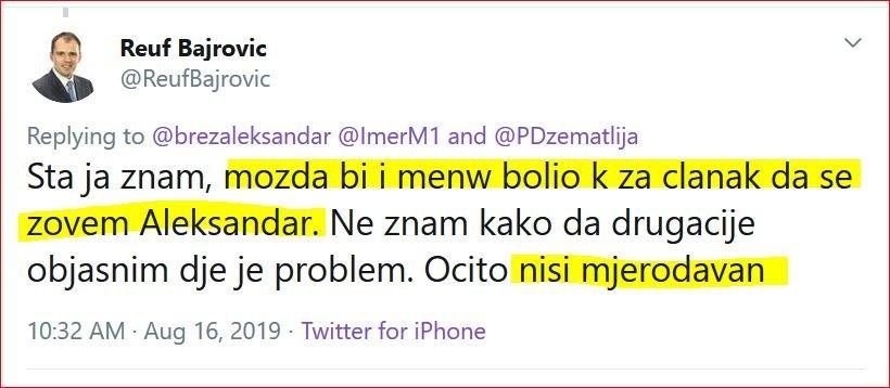 Zoran Kusovac on Twitter: