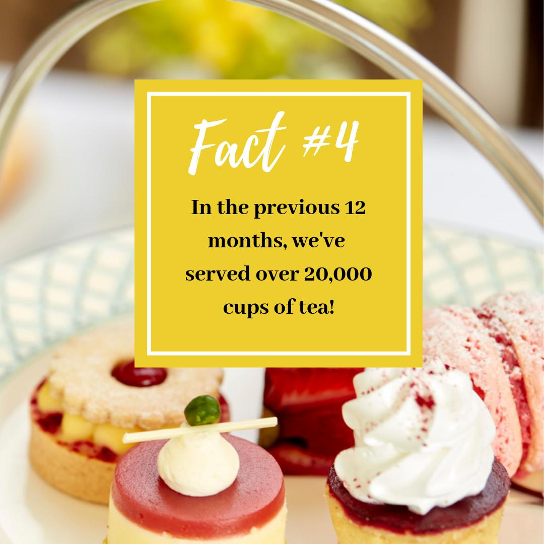 """#AfternoonTeaWeek Fact #4 ☕A cup of tea is the perfect answer for every situation and to quote our Summer Afternoon Tea menu 👇 """"Life is like a tea cup, to be filled to the brim and enjoyed with friends."""" #TrueStory Enjoy 20% off with code TEA20 - http://bit.ly/2Z1ScV6"""