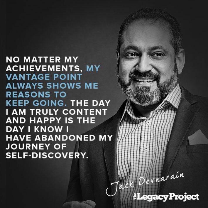 What an inspiring journey! Thanks, @JackD157 Jack Devnarain | Award-winning South African Actor, MC, Speaker, Voice-Over artist Read more: bit.ly/33D49Qr #TheLegacyProject #Successness #Inspiration #JackDevnarain
