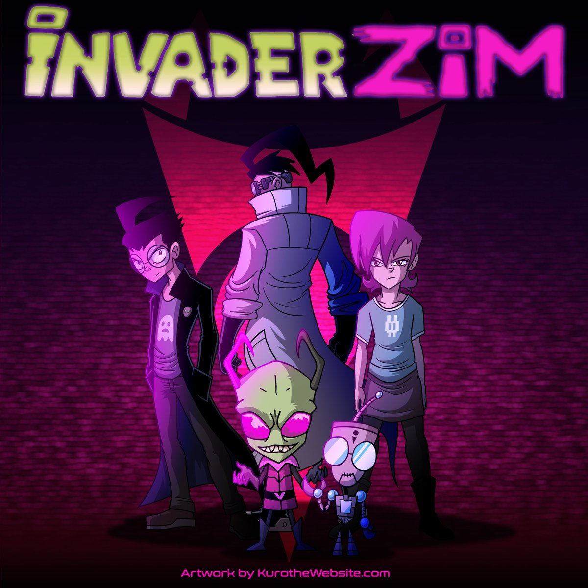 Saw Enter the Florpus and it was definitely worth the wait. Had me so hyped, I dropped everything to make this! Fantastic film. Going to have to rewatch it to take everything in. #InvaderZim #invaderzimentertheflorpus #EnterTheFlorpus